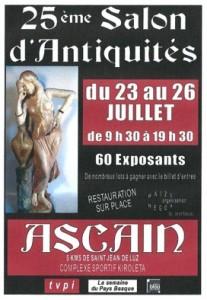 Salon des antiquités Ascain