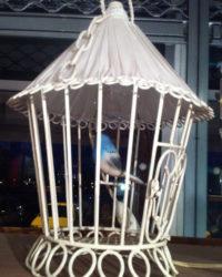 Lanterne Cage à Oiseau